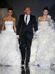 свадебное платье именное от Monuel Mota Pronovias